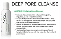 VIA AHA/BHA Exfoliating Deep Cleanser | Salicylic and Glycolic Acids | Enhanced with Tea Tree Oil, Green Tea Extract | Professional Skincare Treatment