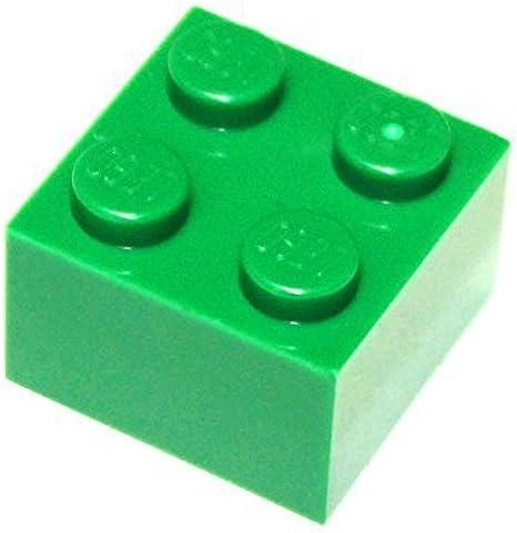 Lego 4x brick brick 2x2 dark green//dark green 3003 new