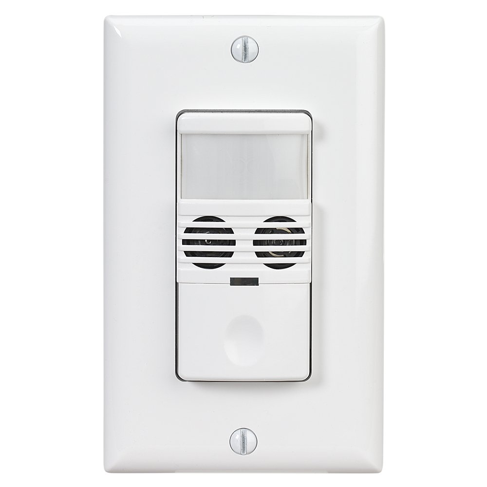 Intermatic IOS-DOV-DT-WH Line Voltage In-Wall Dual Tech Switch - -  Amazon.com