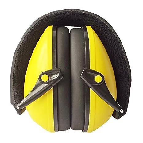 Snug Safe n Sound Niños orejeras / Protectores auditivos - Orejeras diadema ajustable para Niños y Adultos (Amarillo): Amazon.es: Amazon.es