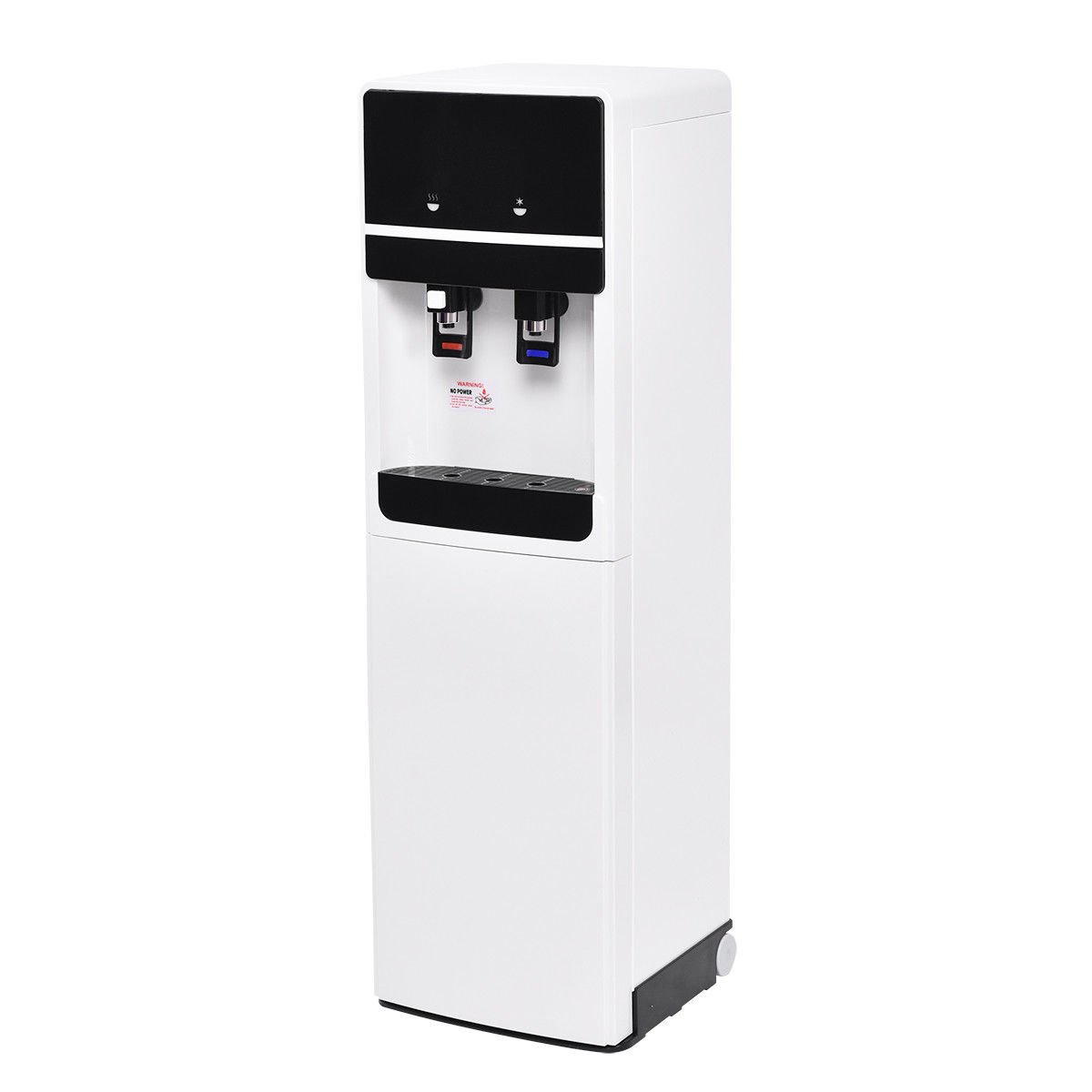 Costway Bottom Loading Water Cooler Dispenser Underlying Stainless Steel Water Cooler Dispenser Cold Hot 5 Gallon Home Office by COSTWAY (Image #4)