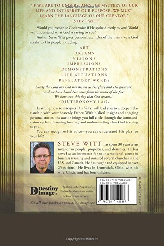Voices: Understanding and Responding to the Language of Heaven by Destiny Image Publishers