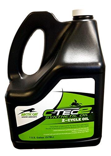Arctic Cat C-Tech 2 Oil - 1 Gallon (Arctic Cat Cycle Oil 2)