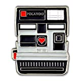 PinMart's Vintage Polaroid Camera Photograhy Trendy Enamel Lapel Pin