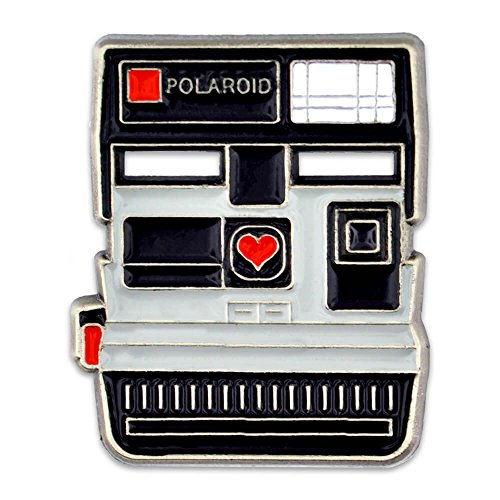 PinMart's Vintage Polaroid Camera Photograhy Trendy Enamel Lapel Pin by PinMart