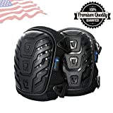 #3: Larosa Protective Knee Pads - Knee Protector For Gardening, Cleaning, Flooring, Working, Construction - Comfortable Gel Cushion, Heavy Duty Foam Padding, Strong Straps & Adjustable Easy-Fix Clips