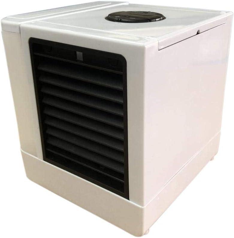 ATpart Ventilador Del Enfriador De Aire, Ajuste De 5 Niveles Mini Portátil USB Ventilador Frío Ventilador De Escritorio Aire Acondicionado Para Coches Aire Acondicionado Refrigerador De Espacio