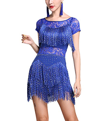 lace salsa dress - 1