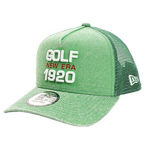 (ニューエラ) NEW ERA ゴルフ メッシュキャップ 9FORTY Aフレーム ダックキャンバス イタリアンウォッシュ NEG1920 マイクロエラ ケリー GOLF FREE (サイズ調整可能)