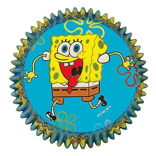 Standard Baking Cups-Spongebob Squarepants 50/Pkg