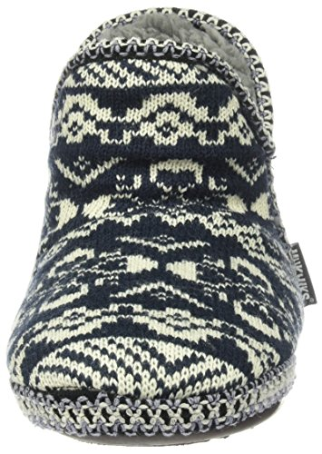 Muk Luks Womens Adraiana Blue Slipper Blue