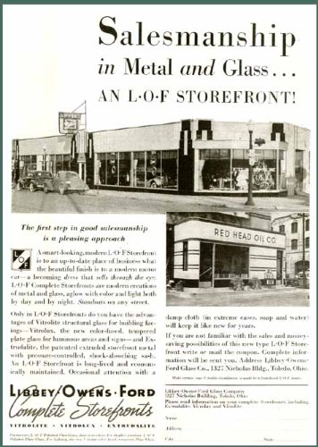 Amazon com: LIPPERT Buick Dealer in 1938 LOF STOREFRONT
