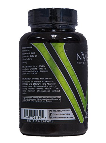 Nvie Nutrition Kreactive 120 Capsules