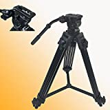 Fancierstudio FC270A Camcorder Tripod Fluid Drag Head Kit