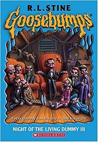 [By R.L. Stine ] Night of the Living Dummy - III (Goosebumps - 40) (Mass Market Paperback)【2018】by R.L. Stine (Author) (Mass Market Paperback) from Scholastic Incorporated