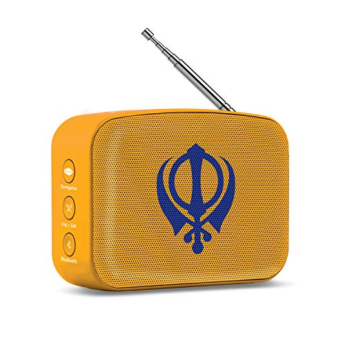 (Saregama Carvaan Mini Gurbani - Bluetooth Speaker (Saffron Orange))
