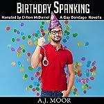 Birthday Spanking: A Gay Bondage Novella | A.J. Moor