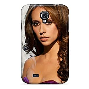 Durable Defender Case For Galaxy S4 Tpu Cover(jennifer Love Hewitt)