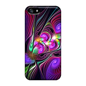 Fashionable CxyKEiv956dyjWD Iphone 5/5s Case Cover For Abstract Hd Colors Protective Case
