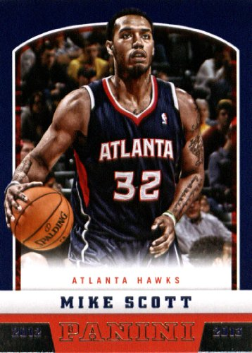 2012 Panini Basketball Rookie Card (2012-13) IN SCREWDOWN CASE #228 Mike Scott Mint