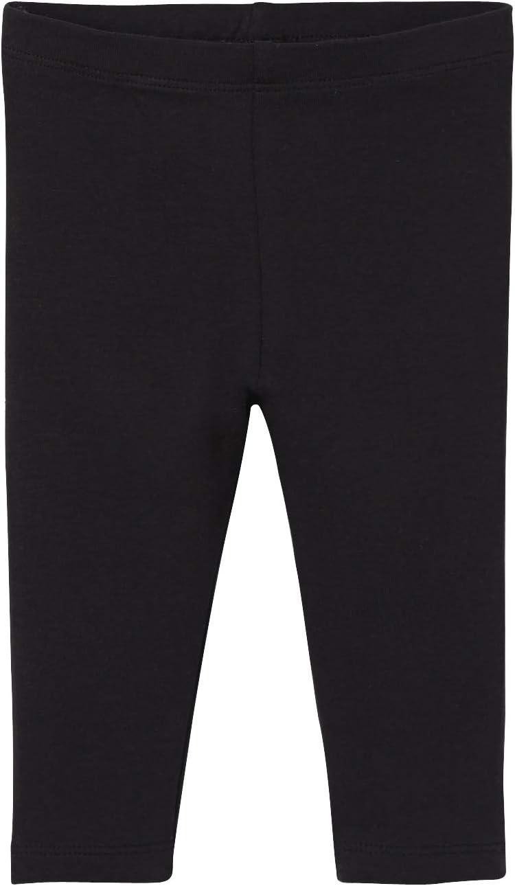 74CM VERTBAUDET Lot de 2 leggings longs b/éb/é fille Lot noir 12M