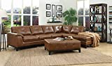Emerald Home U4289-05-3PC-SET-K Marquis  3 Piece Set 2 Piece Sectional with...