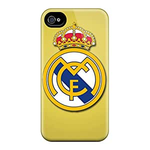 Iphone 4/4s Saz5367rPIX Allow Personal Design High Resolution Real Madrid Cf Pictures Great Hard Cell-phone Case -KaraPerron