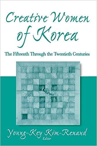 Book Creative Women of Korea: The Fifteenth Through the Twentieth Centuries (East Gate Books)
