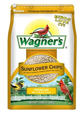 Wagner's 57051 Sunflower Chips, 3-Pound Bag by Wagners