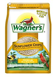 Wagner\'s 57051 Sunflower Chips, 3-Pound Bag