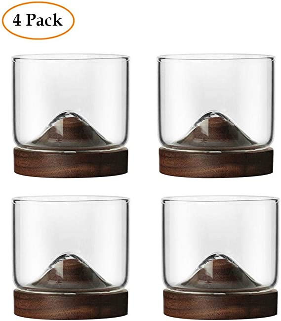 Whiskey Glass Set of 4