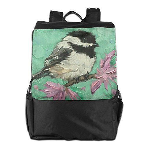 Camping Dayback Travel School and Backpack Personalized Shoulder Outdoors for Women HSVCUY Strap Adjustable Men Birds Storage SxnqwTtIP
