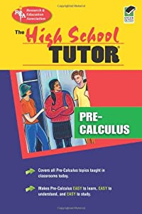 pre calc tutor Pre-calculus is an interesting area of math for students because of its multi-purpose nature it reviews previously learned topics like trigonometry, introduces new topics like matrices and determinants, and prepares students for a formal course in calculus for the following year.