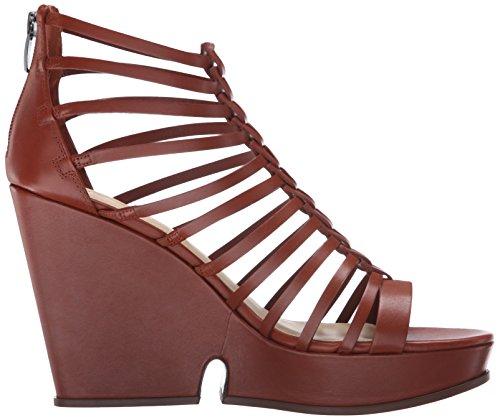 Via Spiga Womens Walena Wedge Sandal Luggage