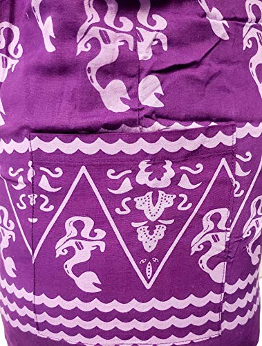 Mermaid Crossbody Hippie Sling Bag Boho Purple Indonesia 76Y4dqPc