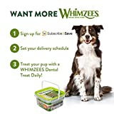 Whimzees Natural Grain Free Daily Dental Dog