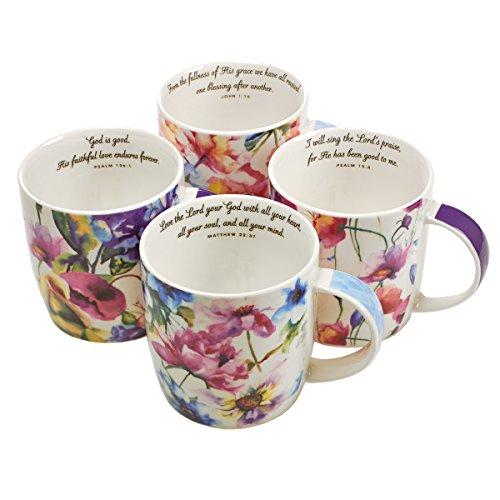 Seeds of Love Inspirational Mugs – Set / 4