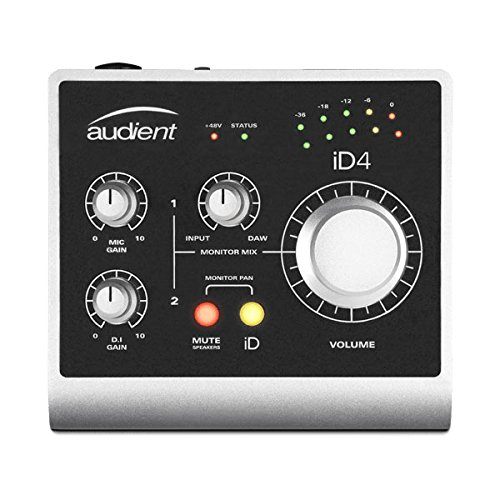 Audient iD4-1 Channel USB2 Interface