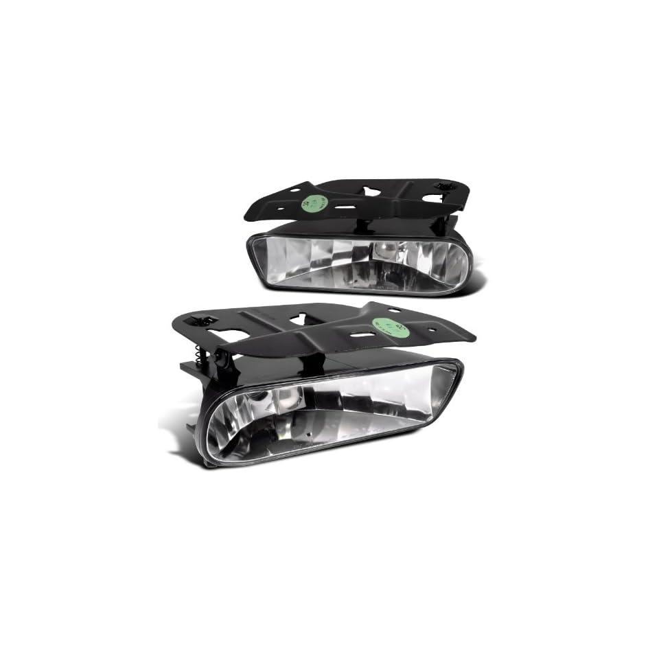 CADILLAC ESCALADE ESV CLEAR OEM STYLE FOG LIGHTS 03 04 05 Automotive