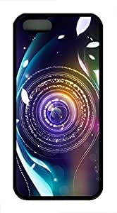 Colored Circles - iPhone 5S Case Funny Lovely Best Cool Customize Black Cover