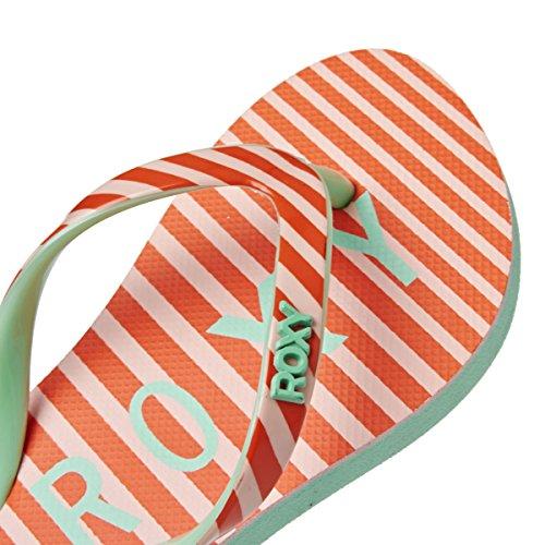 Roxy - Chanclas para niña naranja naranja