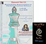 Roman's Labs Chess V.105: Remarkable Rejunevation of the Scandinavian Defense & ChessCentral's Art of War E-Book (2 Item Bundle)