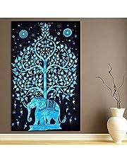 Indian Mandala Tapestry Multi-functional Wall Hanging Tapestry , 2724767237018