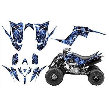 Yamaha Raptor 700r 2013-2015 Graphics Decal Kit By Allmotorgraphics No 4444 Blue