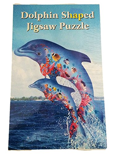 Dolphin Shaped 750 Piece Jigsaw Puzzle