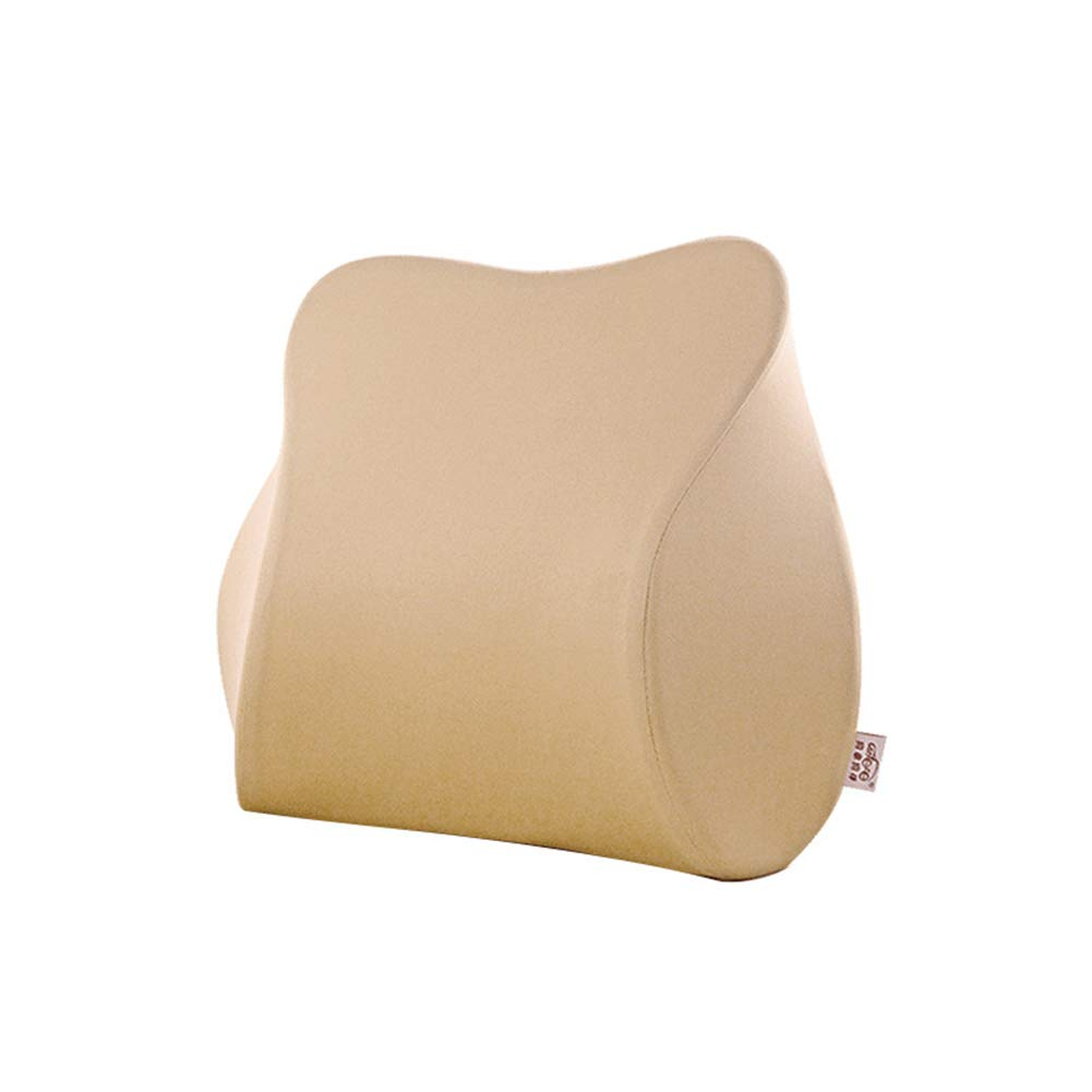 Lumbar Support Cushion, Ergonomic Back Support Pillow for Home, Office, Car, Travel - Relieve and
