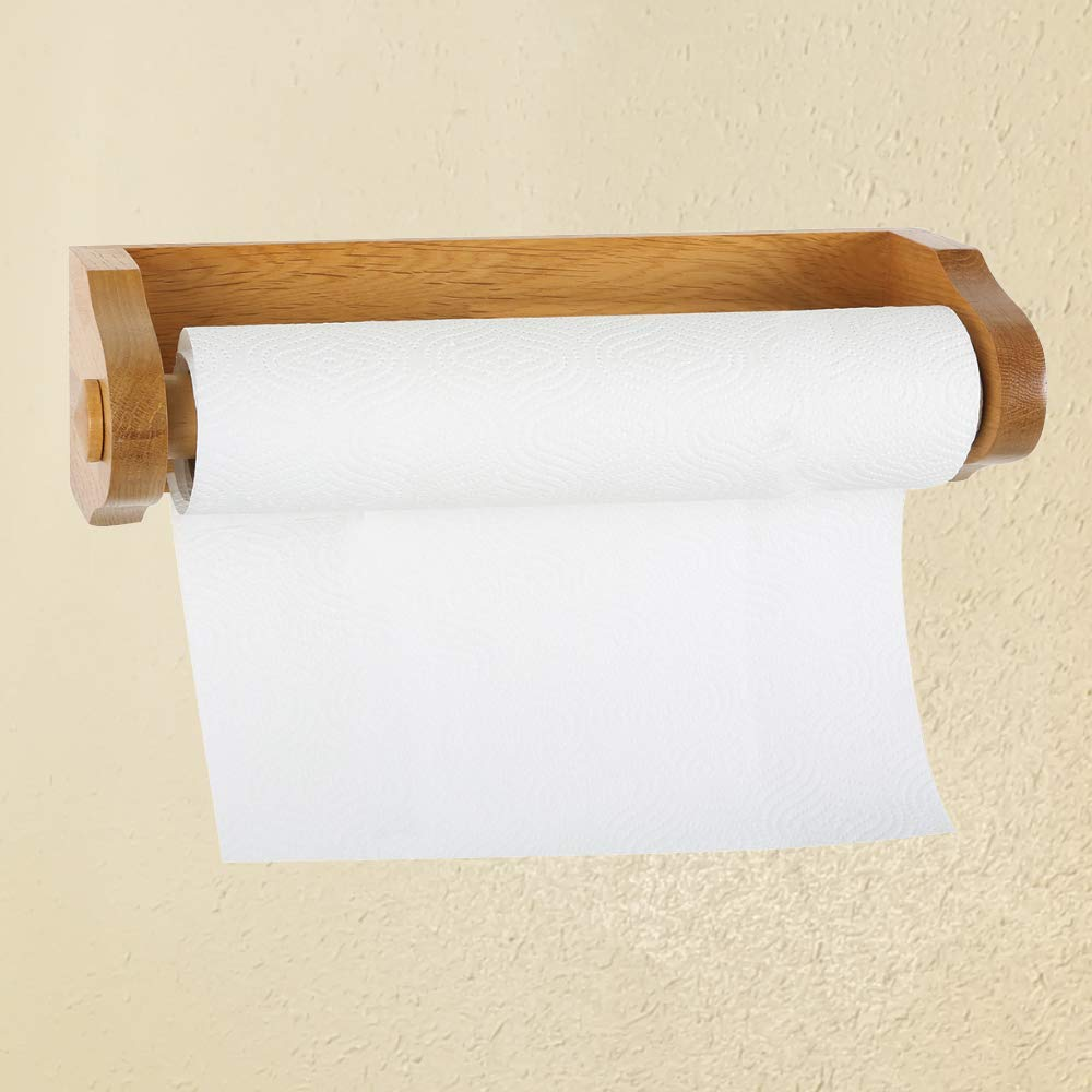 ZQLR New 561233 Toilet roll Stand Honey Oak, for Design House Accessories by ZQLR