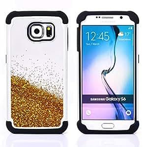 For Samsung Galaxy S6 G9200 - beer sky nature abstract bling white Dual Layer caso de Shell HUELGA Impacto pata de cabra con im??genes gr??ficas Steam - Funny Shop -