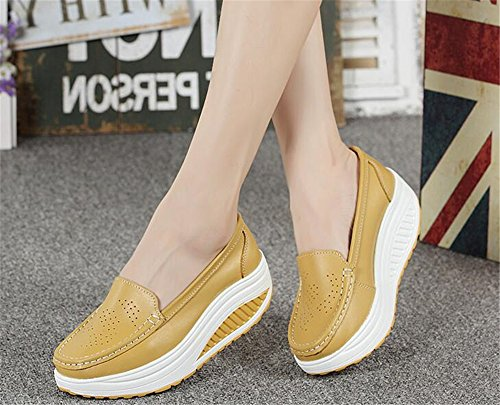 Luxury Yellow Walking Comfort Shoes Women's Sports Go Running Jogging Lightweight Easy Casual Sneaker Running rrw0Onq