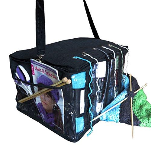 Evelots Knitting Storage Portable Organizer